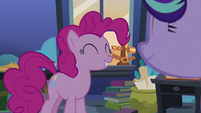 Pinkie Pie and Starlight smiling together S8E3