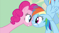 Pinkie Pie she had beans S2E14