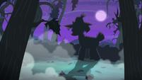 Pony silhouette S4E07