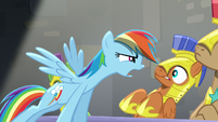 """Rainbow """"What are you tryin' to say"""" S5E15"""