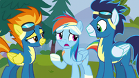 "Rainbow Dash ""you're as fast as a ship"" S6E7"