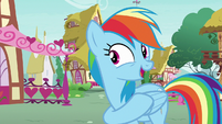 "Rainbow Dash ""you did it again, Pinkie!"" S7E23"