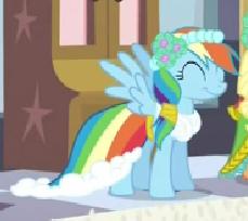 Rainbow Dash Boda