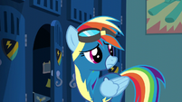 Rainbow Dash hears Spitfire S6E7