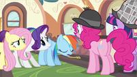Rainbow Dash sorry Pinkie S2E24
