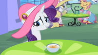 Rarity embarrased to tell the truth S2E9