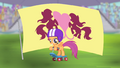 Scootaloo in front of flag S4E05.png
