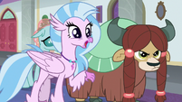 Silverstream -that was sarcasm, right-- S8E1