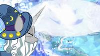 Star Swirl casting magic on the Cutie Map S7E26