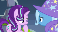 Starlight Glimmer overcome with concern S7E17