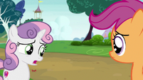 "Sweetie Belle ""it's an awfully big puppy"" S7E6"