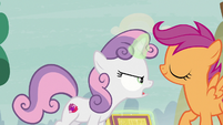 "Sweetie Belle ""it was a long ride!"" S7E8"