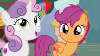 Sweetie Belle --even though things looked bleak-- S6E19