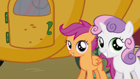Sweetie Belle big smile S3E4