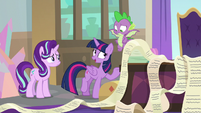 "Twilight ""running a school and running a country"" S9E1"