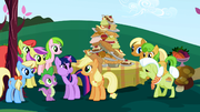 Twilight Sparkle meeting the Apple family S01E01