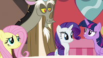 Twilight hears what Discord has to say S5E22
