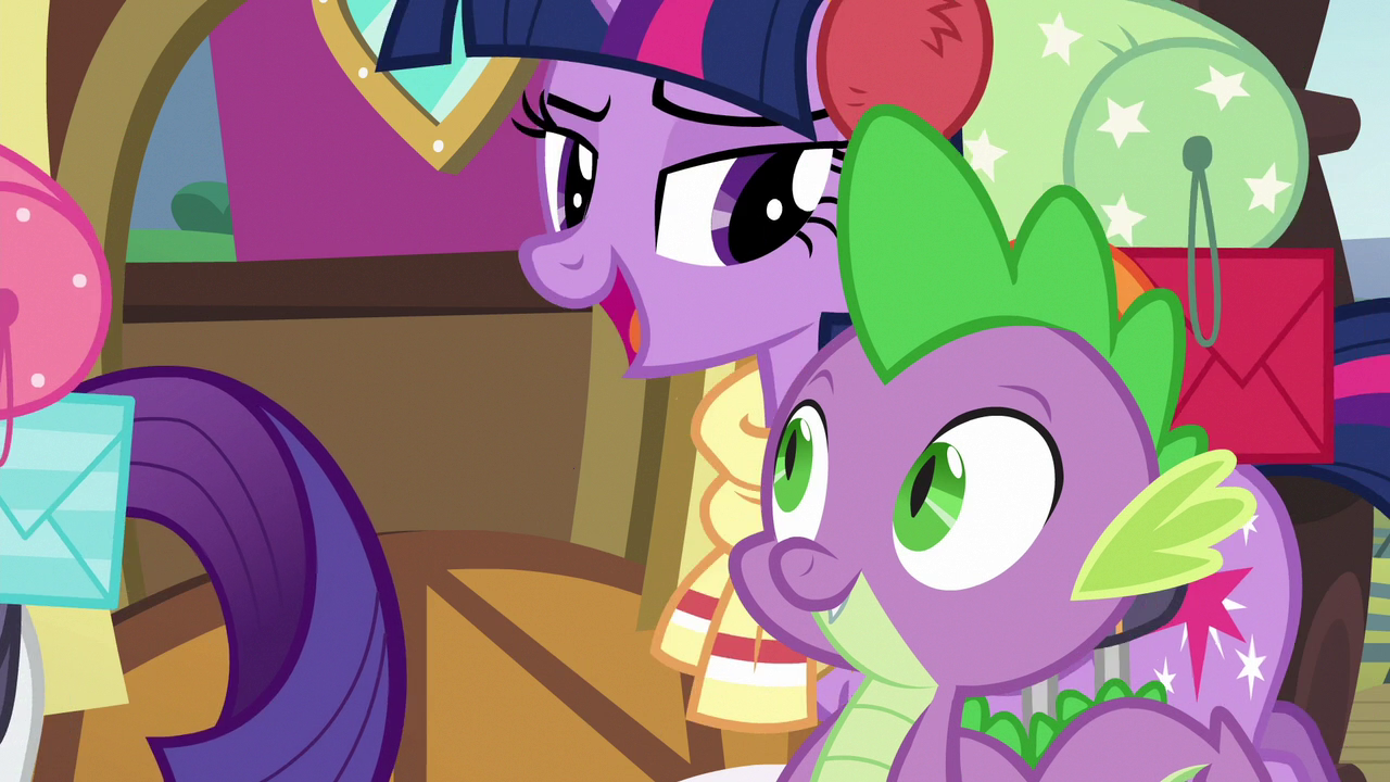 Image - Twilight saying goodbye to Spike S6E17.png | My ...