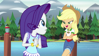 "Applejack ""the stitching on your poncho"" EG4"