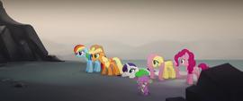 Applejack getting upset at Twilight Sparkle MLPTM
