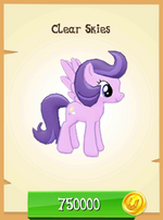 Clear Skies MLP Gameloft