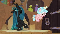 "Cozy Glow ""freaking out the Pegasi"" S9E24"