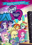 Equestria Girls Magical Movie Night DVD front cover
