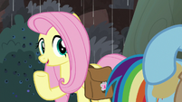 "Fluttershy ""even if our food's spoiled"" S8E25"