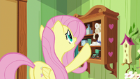 Fluttershy out of bunny foot braces S7E5