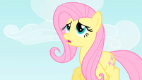 Fluttershy tries to come up with an excuse S1E25