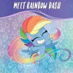 MLP Pony Life Amazon.com promo - Meet Rainbow Dash 1