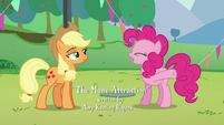 Pinkie --I just told you that she's the biggest pony pop star in Equestria!-- S5E24
