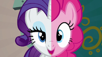 Pinkie and Rarity --we know what you need to do-- S6E12