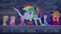 "Rainbow ""whoosh-whoosh-whoosh"" EGSB"