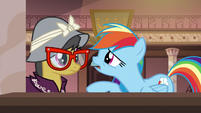 Rainbow Dash --I gotta talk to you-- S6E13