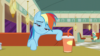 Rainbow Dash with a proud smirk S6E9