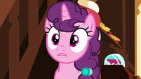 Sugar Belle shocked by Mrs. Cake's implication S8E10