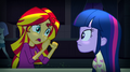 """Sunset Shimmer """"she's related to Pinkie Pie"""" EG2.png"""