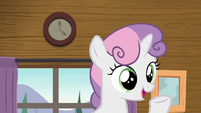 "Sweetie Belle ""that's it for jam-making!"" S7E21"