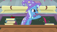 """Trixie """"ponies and other students!"""" S9E20"""