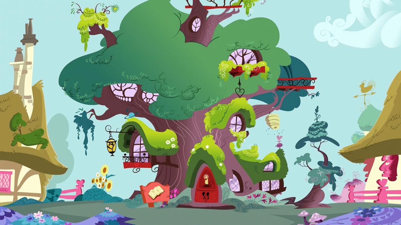 golden oak library my little pony friendship is magic wiki