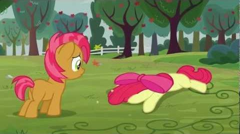 Apple Bloom gets dizzy - Wilhelm scream