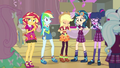 Applejack's friends laugh at her EG3b.png