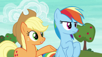 Applejack --Ponyville is countin' on a win-- S6E18
