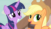 Applejack -that there's the Princess of Friendship!- S5E1