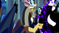 Discord fending off Sombra's power S9E2