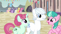 Double Diamond talking with two mares S5E2.png