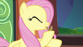 Fluttershy blowing bird whistle S4E22.png