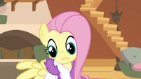 Fluttershy faking hurt wing S2E22