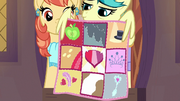 Lofty presenting the CMC quilt again S9E12